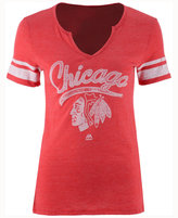 Majestic Women's Chicago Blackhawks Tag Up T-Shirt