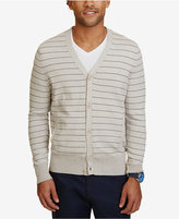 Nautica Men's Striped Cardigan