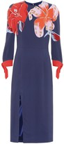 Etro Floral stretch-crepe dress