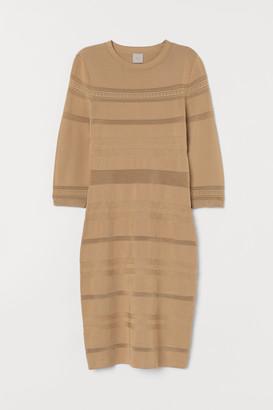 H&M Textured-knit dress