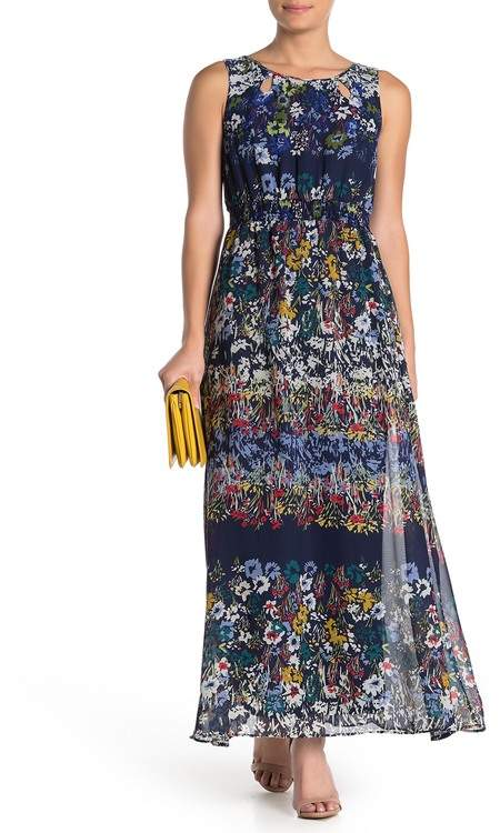 Gabby Skye Floral Maxi Dress