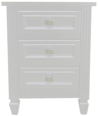 Cafe Lighting Merci Bedside Table Small White