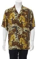 Gucci 2017 Silk Bengal Bowling Shirt