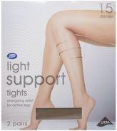 Boots 15 Denier Light Support Mist Tights 2 Pair Pack