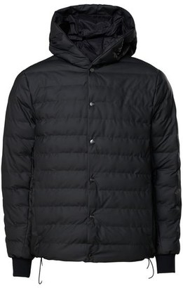 Rains Trekker Hooded Jacket Black - S/M