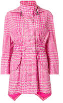 Fendi glen plaid trench coat