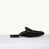 Maje Velvet slipper
