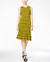 Rachel Roy Textured Knit Drop-Waist Dress