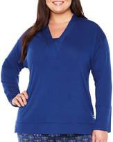 Liz Claiborne 2-pc. Floral Pant Pajama Set-Plus