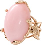 Lucifer Vir Honestus Pink Opal Chicco Ring