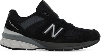 New Balance 990 V5 SUEDE & MESH SNEAKERS