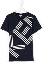 Kenzo graphic logo print T-shirt - kids - Cotton - 14 yrs