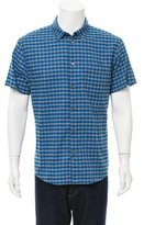 Marc by Marc Jacobs Checkered Print Button-Up Shirt