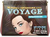 Charlotte Olympia 'Voyage Maggie' clutch - women - Silk Crepe - One Size