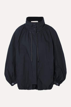 3.1 Phillip Lim Oversized Cotton-blend Jacket - Midnight blue