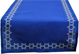 DESIGN IMPORTS Design Imports Embroidered Star of David Table Runner