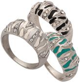 Crystal  Zebra  Rings