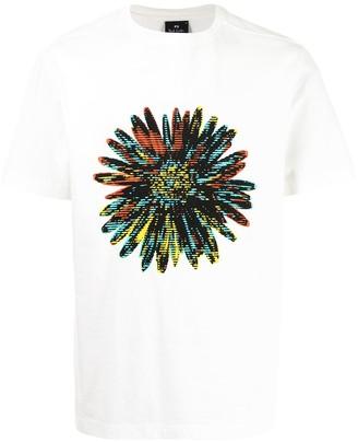 Paul Smith flower print cotton T-shirt