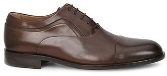 Bruno Magli Sassiolo Leather Cap Toe Oxfords