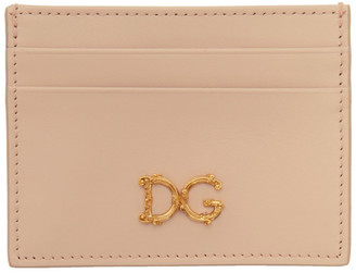 Dolce & Gabbana Pink Card Holder