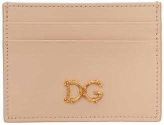 Dolce & Gabbana Pink Card Holder