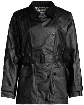 Barbour by Alexa Chung Agatha Waxed Cotton Jacket