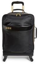 Flight 001 Avionette 19 Inch Rolling Carry-On Suitcase - Black
