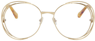 Chloé Gold Carlina Glasses