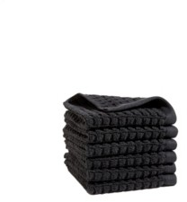 DKNY Quick Dry 6 Pieces Wash Towel Set Bedding