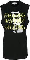 McQ falling print tank top