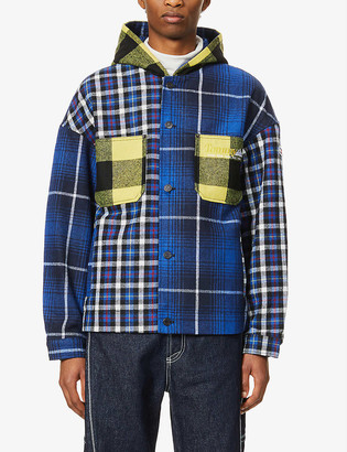 Tommy Jeans Checked patchwork woven jacket