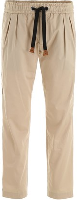 Dolce & Gabbana Contrast Side Panel Trousers