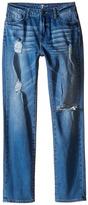 7 For All Mankind Kids - Slimmy Slim Straight Stretch Denim Jeans in Eastern Light Boy's Jeans