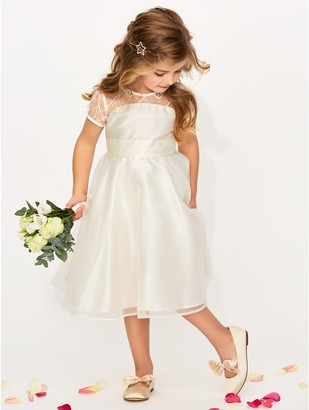 M&Co Lace insert bridesmaid dress (3-12yrs)