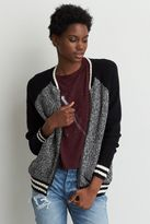 American Eagle Outfitters AE Sweater Bomber Jacket
