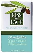 Kiss My Face Moisturizing Bar Soap for All Skin Types - Olive & Aloe - 8 oz