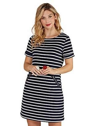 Yumi Nautical Stripe Zip Pocket Tunic