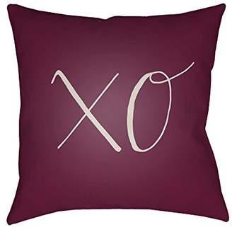 Surya XOXO Pillow Cover