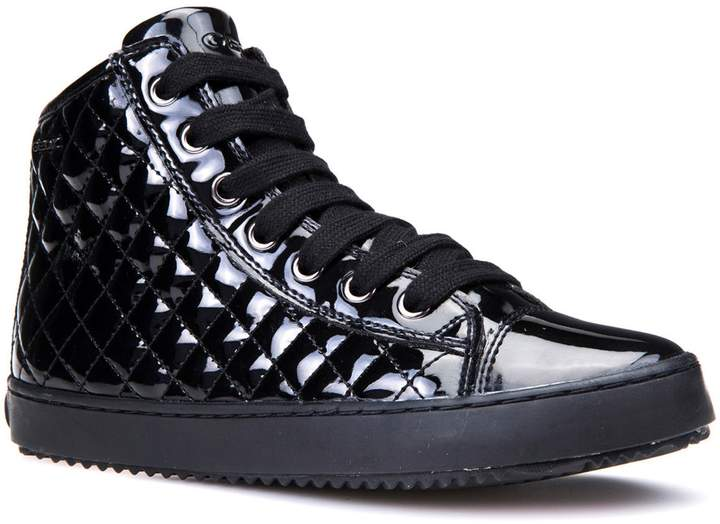 Geox Kalispera Girl Quilted High-Top Sneaker