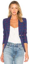 Smythe Patch Pocket Duchess Blazer in Blue. - size 4 (also in 6)
