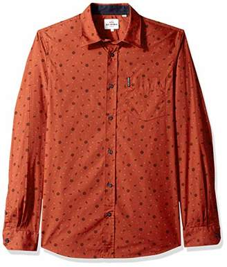 Ben Sherman Men's Scatter Rose Print Shirt