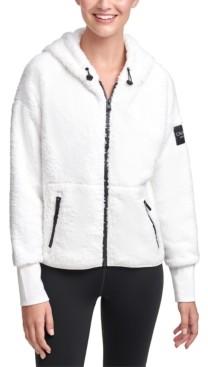 Calvin Klein Fleece Hooded Jacket