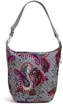 Vera Bradley Carson Floral Paisley-Print Hobo Bag