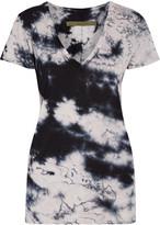 Enza Costa Tie-dyed Pima cotton T-shirt