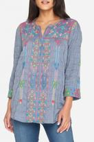 3J Workshop by Johnny Was Boho Blouse