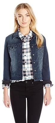 Mavi Jeans Women's SAMANTHA CROPPED DENIM JACKET