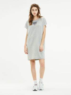 Tommy Hilfiger Loose Fit T-Shirt Logo Dress