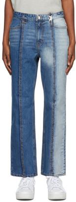 Ader Error Indigo Collage Roah Jeans