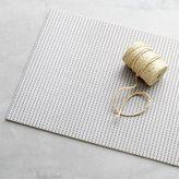 Crate & Barrel Grey Dot Floor Mat.
