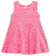 Amy Coe Infant Girls' Diamond Lace Dress - Sizes 12-24 Months
